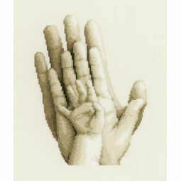 Three Hands Cross Stitch Kit
