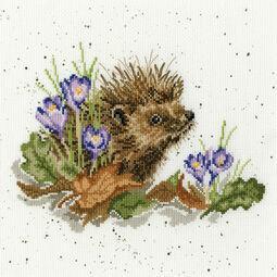 New Beginnings Hedgehog Cross Stitch Kit