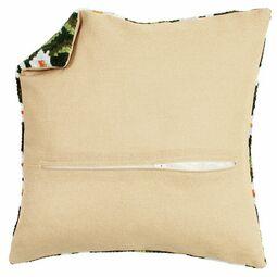 Square Cushion Back Ecru With Zipper 45x45cm