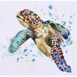 Colourful Turtle Cross Stitch Kit