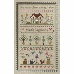 Garden Sampler Cross Stitch Kit