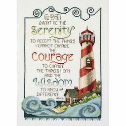 Serenity Lighthouse Cross Stitch Kit