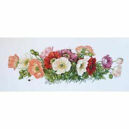 Poppies Cross Stitch Kit