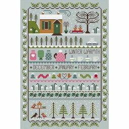Winter Warmth Cross Stitch Kit