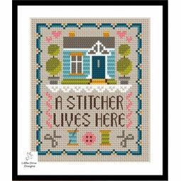Home Of A Stitcher Cross Stitch Kit