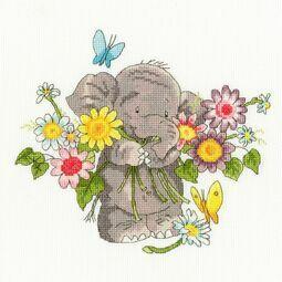 Jumbo Bouquet Elly Cross Stitch Kit