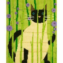 Suki The Cat Long Stitch Kit