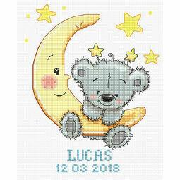 Lucas Birth Sampler Cross Stitch Kit