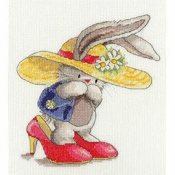 Bebunni Dressing Up Cross Stitch Kit