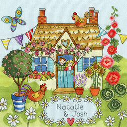Our House Cross Stitch Kit