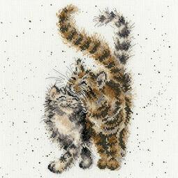 Feline Good Cross Stitch Kit