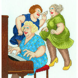 Beryl Cook Song And Dance Cross Stitch Kit