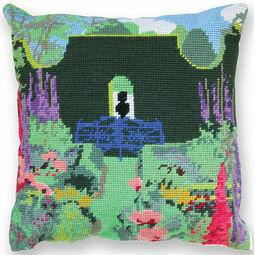 The Sundial Garden Herb Pillow Tapestry Kit