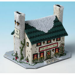 Holly Bush Inn 3D Cross Stitch Kit