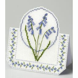 Bluebells 3D Cross Stitch Card Kit