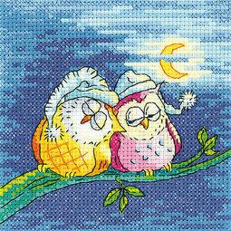 Night Owls Cross Stitch Kit