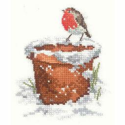 Garden Friend Cross Stitch Kit