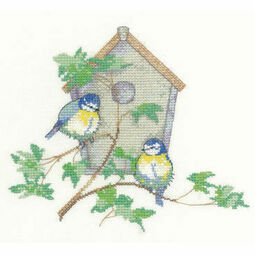 Nesting Box Cross Stitch Kit