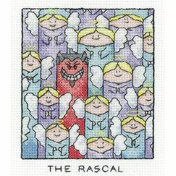 The Rascal Cross Stitch Kit