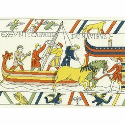 Bayeux Tapestry: The Normans' Landing Cross Stitch Kit