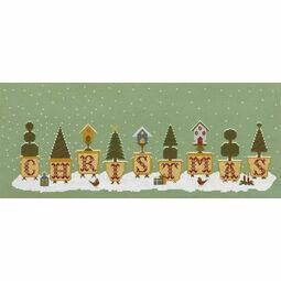 Christmas Pots Cross Stitch Kit