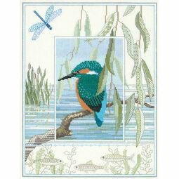 Wildlife - Kingfisher Cross Stitch Kit