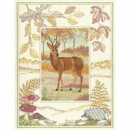 Wildlife - Deer Cross Stitch Kit