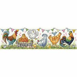 Chicken Run Cross Stitch Kit