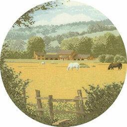 Buttercup Meadow Cross Stitch Kit