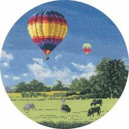 Up And Away Cross Stitch Kit
