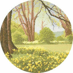 Daffodil Wood Cross Stitch Kit