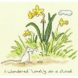 Lonely As A Cloud Cross Stitch Kit