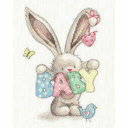 Bebunni Baby Cross Stitch Kit