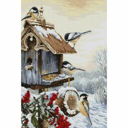 Bird House Cross Stitch Kit