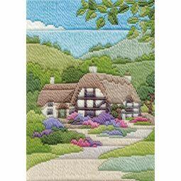 Summer Cottage Long Stitch Kit