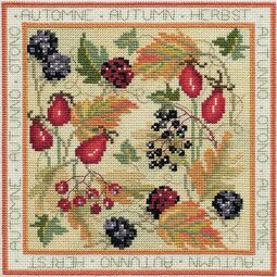 Four Seasons Autumn Cross Stitch Kit