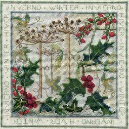 Four Seasons Winter Cross Stitch Kit