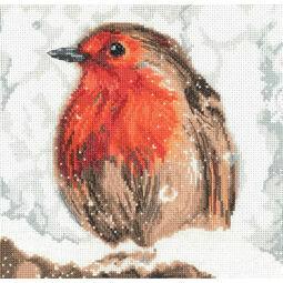 Robin Cross Stitch Kit by Martha Bowyer