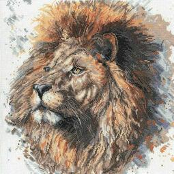 Lex The Lion Cross Stitch Kit by Bree Merryn