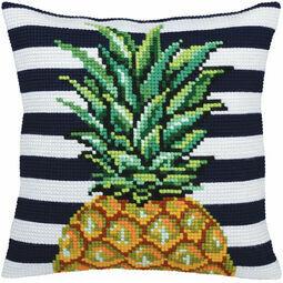 Pineapple Chunky Cross Stitch Cushion Panel Kit
