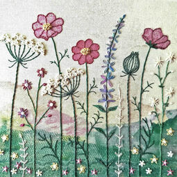Summer Hedgerow Embroidery Kit