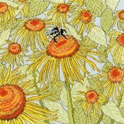 Sunflower Garden Cross Stitch Kit
