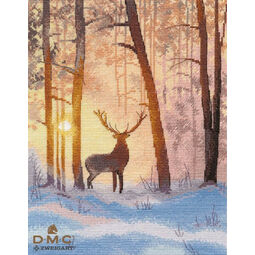 In The Winter Forest Cross Stitch Kit