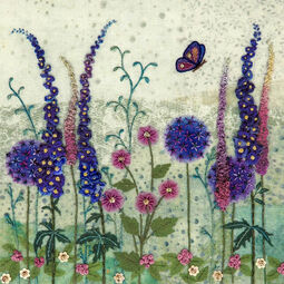 Cottage Garden Embroidery Kit