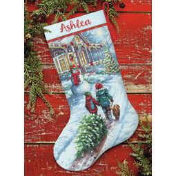 Christmas Tradition Cross Stitch Stocking Kit