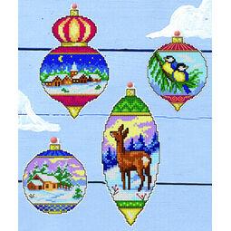 Christmas Decoration Cross Stitch Ornaments Kit