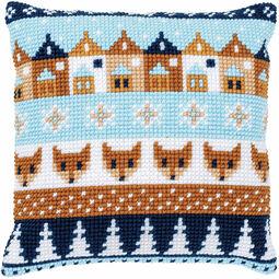 Winter Motifs 1 Chunky Cross Stitch Cushion Panel Kit