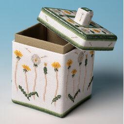 Dandelion Box 3D Cross Stitch Kit