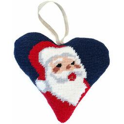 Santa Tapestry Heart Kit