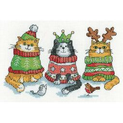 Christmas Jumpers Cross Stitch Kit